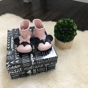 [NEW] Mini Melissa Sugar Disney Rain Boots